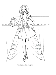 barbie fashion coloring pages 42 reference photos for classroom