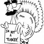 Funny Thanksgiving Coloring Pages Free Printable Funny Coloring Pages Grown Ups Character Turkey