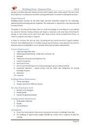 wedding venue business plan template 4 u2013 best quality