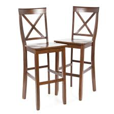 30 Inch Bar Stool With Back Back Bar Stool In 30 Inch Seat Height Set Of Two