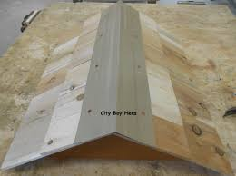 How To Make A Top Bar Beehive How To Make A Ventilated Gabled Beehive Roof City Boy Hens