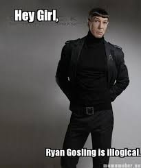 Hey Girl Meme - 14 spock hey girl meme pmslweb
