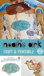 noah u0027s ark craft u0026 printable thinking kids