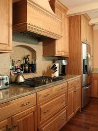 kitchen design with oak cabinet oak cabinet kitchen ideas about