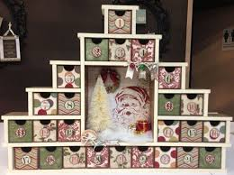 How To Make Decorative Gift Boxes At Home Diy Wooden 2015 Tree Advent Calendar With Santa And Gift