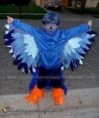 Bird Halloween Costume Coolest Homemade Blue Bird Halloween Costume