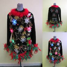 light up ugly christmas sweater dress hysterical musical light up sweater tacky ugly christmas sweater