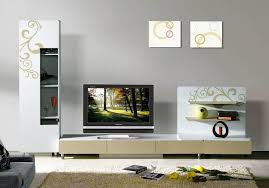 2014 luxury simple tv wall unit was made from e1 mdf board and