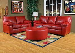 sofa ideas red leather sofa