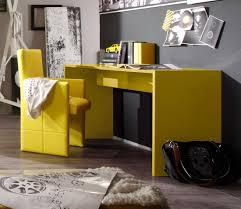 Schreibtisch Hochglanz Italienischer Schreibtisch In Sonnig Gelbem Hochglanz Lack Modell