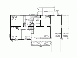 tri level home plans designs eplans split level house plan comfortable tri level 1605