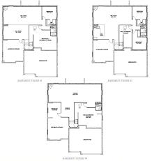 Finish Floor Plan Lenox Hilltop Pines Parker Colorado D R Horton