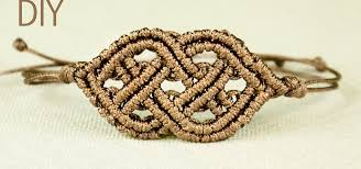 bracelet macrame images Celtic style macrame bracelet jewelry wonderhowto jpg