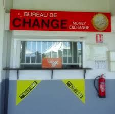 bureau de change ile de interchange carte de la réunion