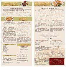 Cottage Inn Menu by Online Menu Of Minard U0027s Spaghetti Inn Restaurant Clarksburg West