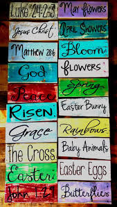 groopdealz rustic easter and spring pallet signs daily discount boutique deals