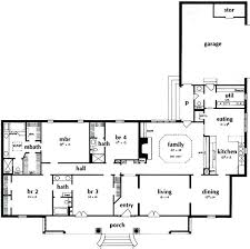 4 bedroom open floor plans 4 bedroom rectangular house plans the best rectangle house plans