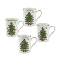 spode tree 12oz mugs set of 4 spode usa
