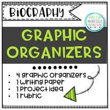 free biography graphic organizer 4th grade biography graphic organizer teaching resources teachers pay teachers