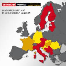 Plz Bad Oldesloe Winterreifenpflicht In Europa