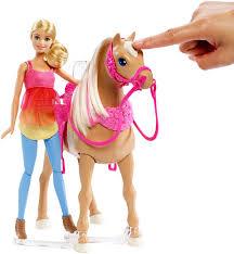 barbie doll u0026 dancin fun horse dmc30 barbie