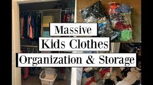 massive kids clothes organization u0026 storage dollar tree u0026 hand