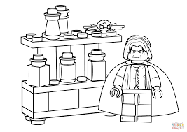 lego severus snape coloring page free printable coloring pages