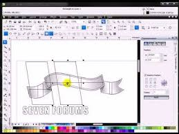 corel draw x5 download free software fit text to path tutorial coreldraw x5 youtube flv youtube