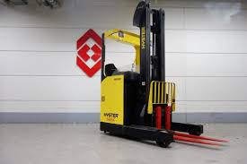 hyster r1 4 electric reach truck for sale forkliftcenter