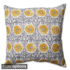 Floral Throw Pillows For Less