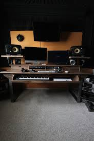 Creation Station Studio Desk Reclaimed 88 Key Studio Desk For Audio Video Music Film