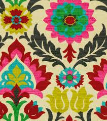 Yellow Home Decor Fabric Home Decor Print Fabric Waverly Santa Maria Desert Flowerhome