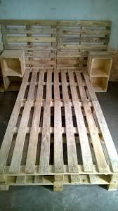 Crate Bed Frame 30 Easy Pallet Ideas For The Home Pallet Furniture Diy
