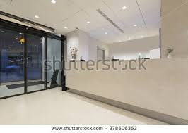 Marble Reception Desk Hospital Reception Desks New Modern Hospital Stock Photo 43275865