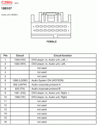 2003 ford explorer radio wiring diagram 1998 2002 ford explorer