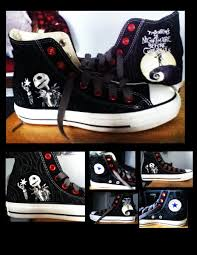 the nightmare before converse by kira009 on deviantart