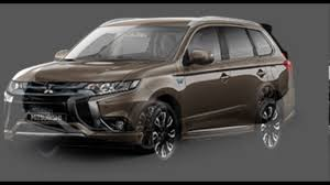 2017 mitsubishi outlander sport brown mitsubishi outlander phev granite brown youtube