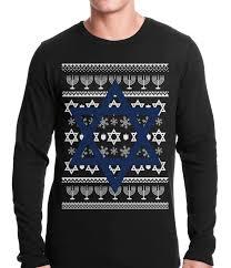 hanukkah clothing hanukkah sweater thermal shirt