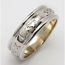 mens claddagh ring men s silver claddagh wedding rings product categories