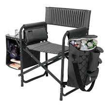 Coleman Oversized Quad Chair With Cooler Camping Chairs Camping Furniture The Home Depot
