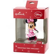 hallmark minnie mouse pink bowtique ornament walmart