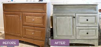 Chalk Paint Bathroom Cabinets Read This Before Installing Diy Faux Shiplap Walls Pretty Purple