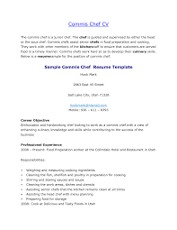 career objective in resume examples resume sample for chef sample resume and free resume templates resume sample for chef chef de cuisine resume samples commis chef resume objective cv sample vinodomia