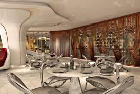 lexus hotel dubai in pictures bishop design reveals versatile dining space for zaha