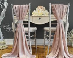 Chiffon Chair Sash 12 X Wedding Chiffon Chair Sash White Ivory Cream Wedding