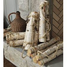 birch log bundles christmas pinterest birch logs and