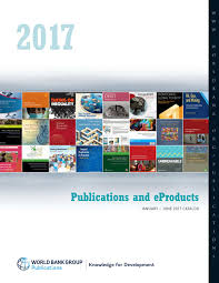 world bank group publications catalog january june 2017 by