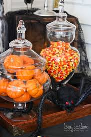 Halloween Cupcakes In A Jar by Spooky Halloween Party Set Up