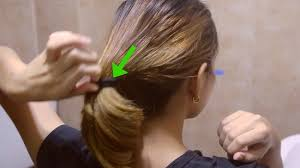 sock hair bun how to curl your hair with a sock bun 13 steps with pictures