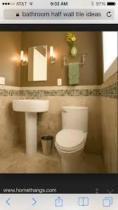 half bathroom tile ideas bathroom half wall tile ideas for the home bathroom